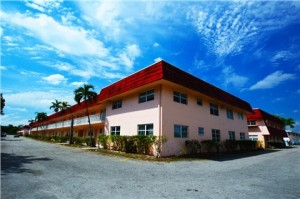 The Kings Row apartments in Lauderhill