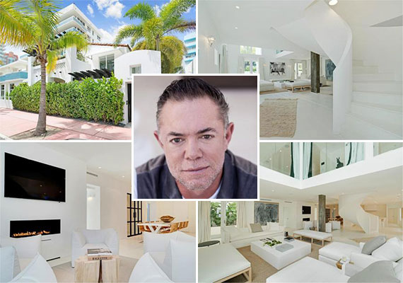 The Miami Beach home at 222 Ocean Drive and Shareef Malnik, owner of The Forge