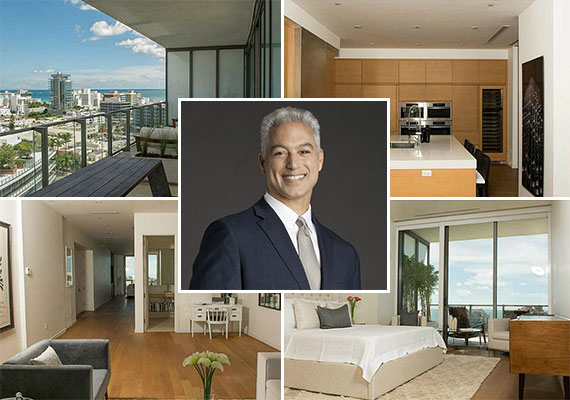 Unit 1203 at the Apogee condo tower in South Beach