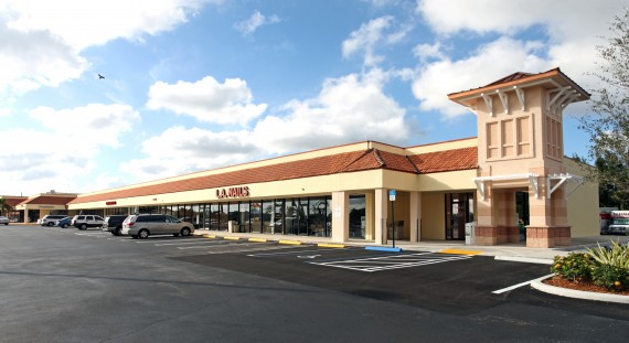 The Delray Square II shopping center at 14530 Military Trail