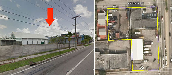 The two properties for sale at 2916 and 2994 North Miami Avenue