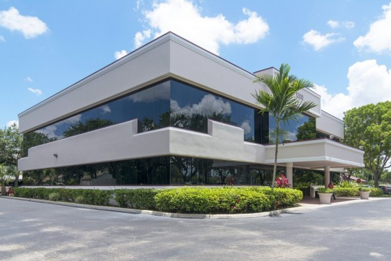 One of the three Wellington office buildings that were sold for $7.7 million