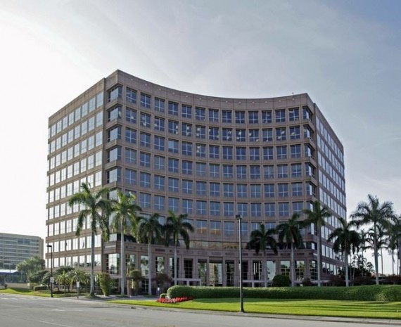 The 5200 Waterford office building, one of six included in the joint-venture