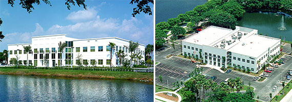The offices at 7800 Congress Avenue in Boca Raton