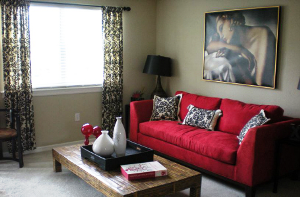 A two-bedroom apartment at Bay Pointe Colony in Tampa.