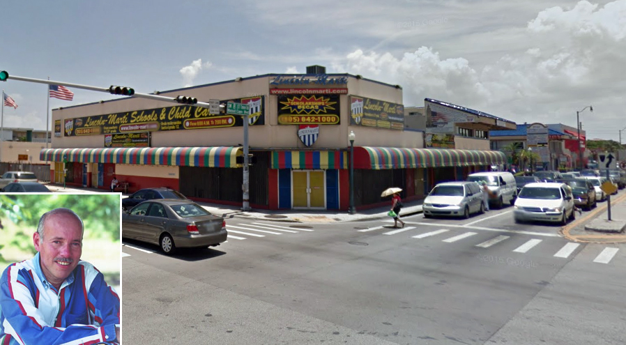 Lincoln-Mart school at 2700 Southwest Eighth Street in Little Havana and Demetrio Perez Jr