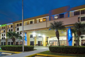 The Holiday Inn-Express Hialeah/Miami Lakes at 6650 West 20th Avenue