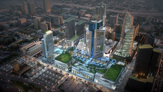 A rendering of Miami Worldcenter