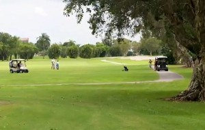 The 240-acre, 36-hole Orangebrook Golf & Country Club in Hollywood.