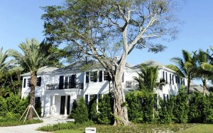 The two-story home at 301 Maddock Way in Palm Beach intitially was listed for sale at a pre-construction price of $11.9 million.