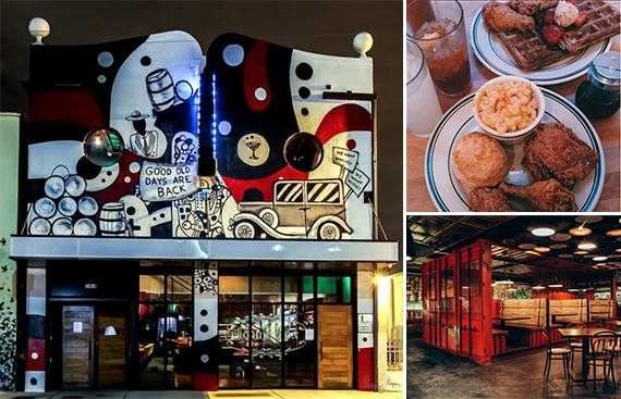 Clockwise from left: Prohibition Miami, Pies 'n' Thighs (via Intagram) and TALDE Miami Beach