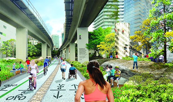 Proposed rendering of the Underline Brickell