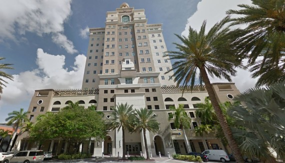 The office tower at 355 Alhambra Circle in Coral Gables