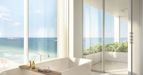 Fasano Hotel + Residences at Shore Club - Bathroom rendering by Visualhouse