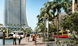 Rendering of proposed Bahia Mar redevelopment