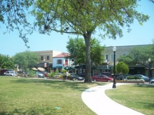 Downtown Winter Park's historic district