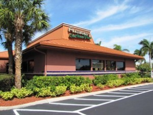 A restaurant at the Pompano Marketplace