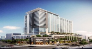 Rendering of Tribute Portfolio-Element hotel in Fort Lauderdale