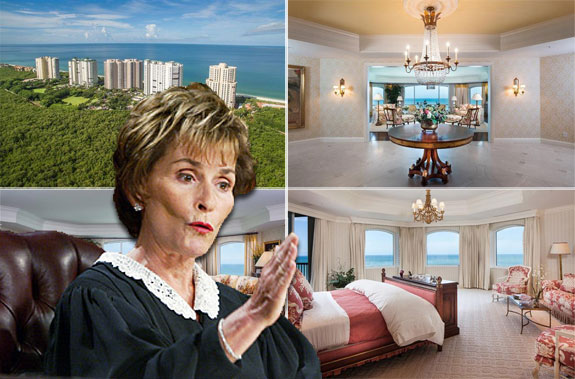 Judge Judy and her new condo in Naples.