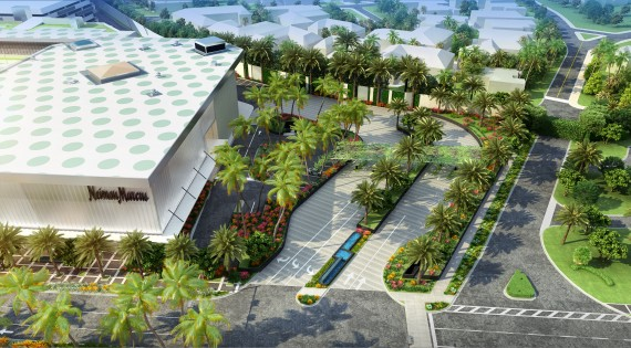 A rendering of the upcoming Bal Harbour Shops retail development