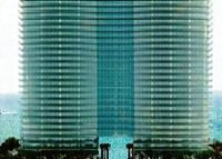 The facade of Oceana Bal Harbour is made of glass panels that incorporate UV light blocking material.