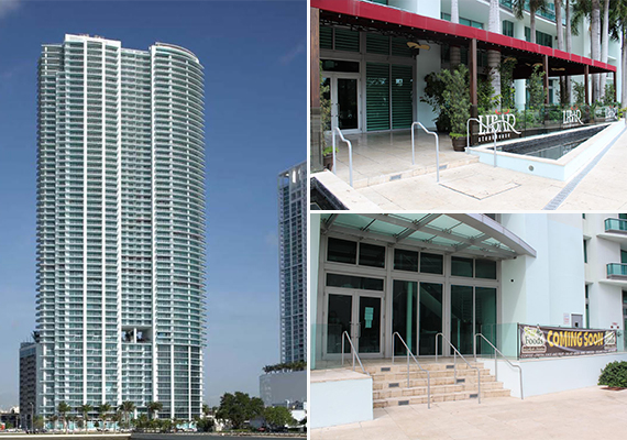 Restaurant and retail space at 900 Biscayne