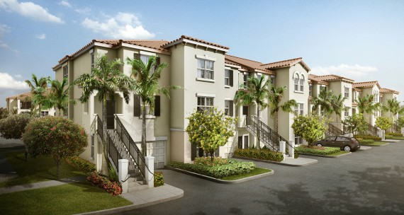 A rendering of the Altis at Bonterra apartments in Hialeah