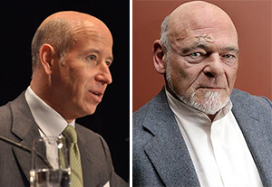 Starwood Capital Group CEO Barry Sternlicht and Equity Residential founder Sam Zell