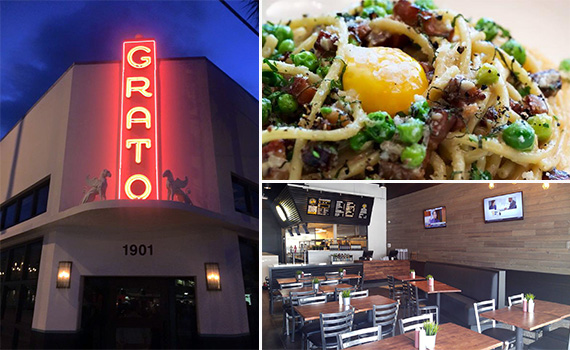 Grato in West Palm Beach and Pincho Factory bottom right