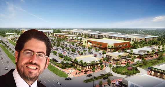 Terra Group President David Martin and the firm's Pembroke Pines City Center project