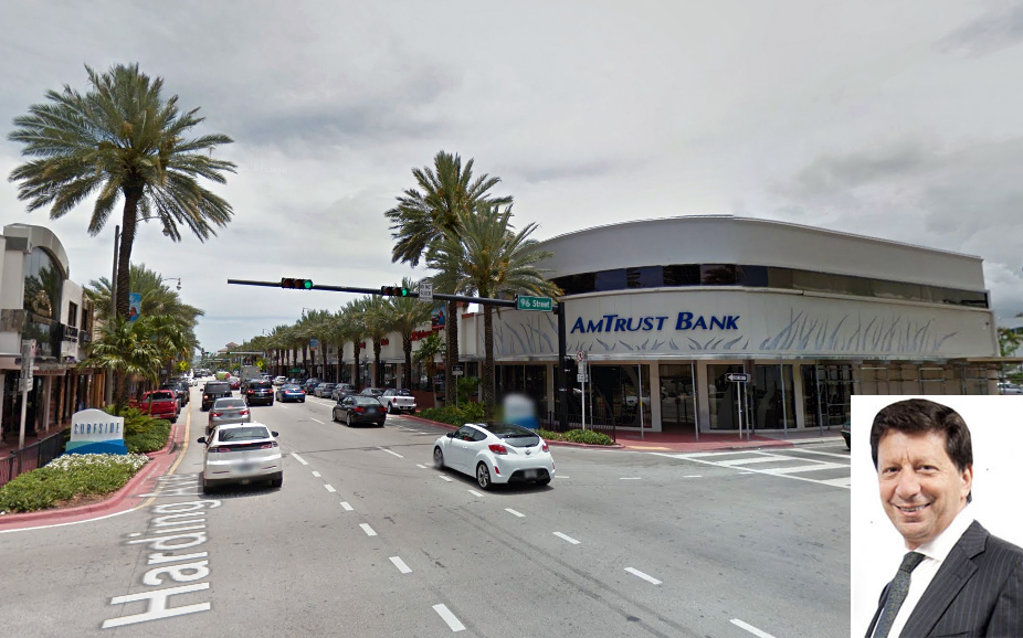 The AmTrust building in Surfside and Daniel Benedict of BRG