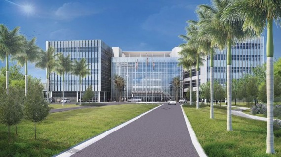 A rendering of the Center for Intelligent Buildings, which nabbed city approval in October
