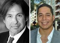 CREC brokers Steven Henenfeld and Rafael Romero