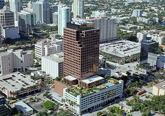 The 110 Tower office building in Fort Lauderdale