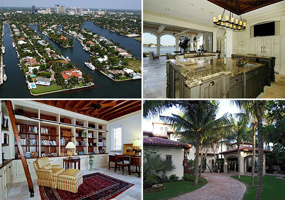 The waterfront estate at 1831 Southeast 9th Street in Fort Lauderdale