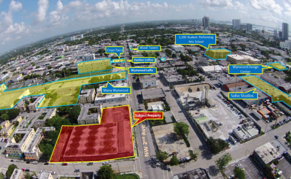 The Wynwood assemblage made up of two parcels