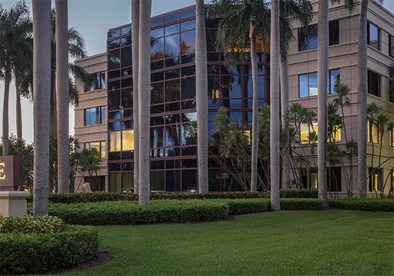 The offices at 800 Fairway Drive in Deerfield Beach