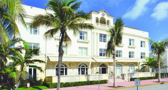 The former Edgewater Hotel in South Beach