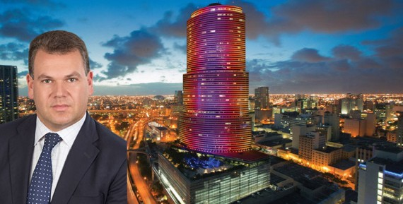 Eric Groffman and the 47-story Miami Tower