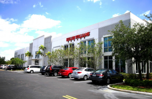 One of the two office buildings at 2000 Northwest 150th Avenue in Pembroke Pines
