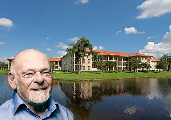 The Heron Pointe Apartments in Boynton Beach and Equity Residential founder Sam Zell