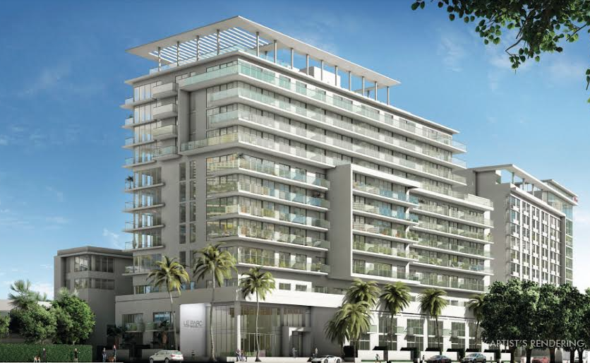 A rendering of Le Parc