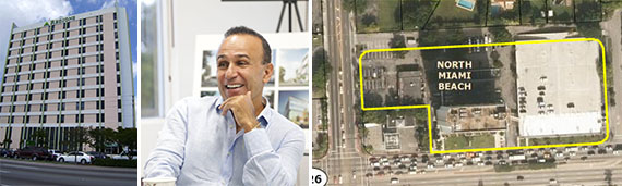North Miami Beach property and Moishe Mana