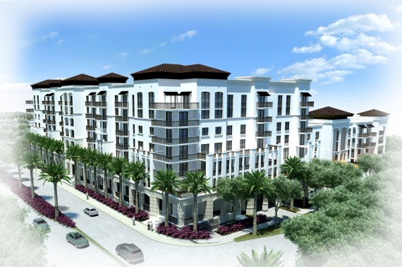 A rendering from July of Soleste West Gables 2