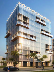 A conceptual rendering of Building A could look like as a hotel