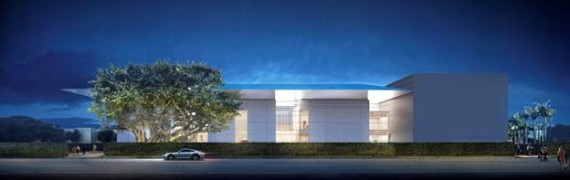 A rendering of the revised Norton Museum of Art in West Palm Beach