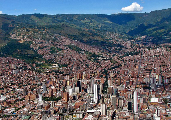 Medellín, Colombia was No. 3 on the list (Credit: Seth Pipkin)