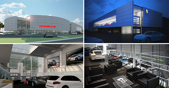Porsche West Broward renderings