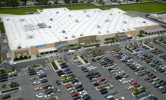 A rendering of the brand new Fort Lauderdale Walmart Supercenter