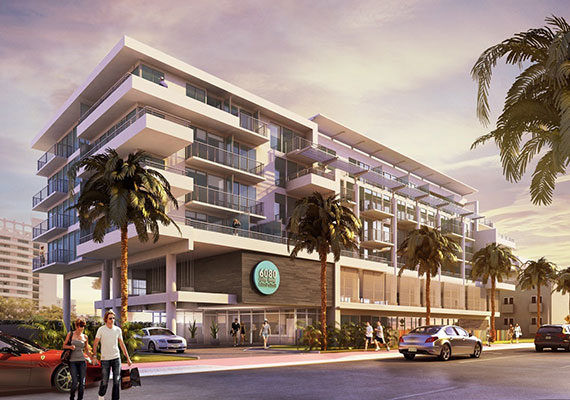 Rendering of 6080 Collins Avenue Beach House